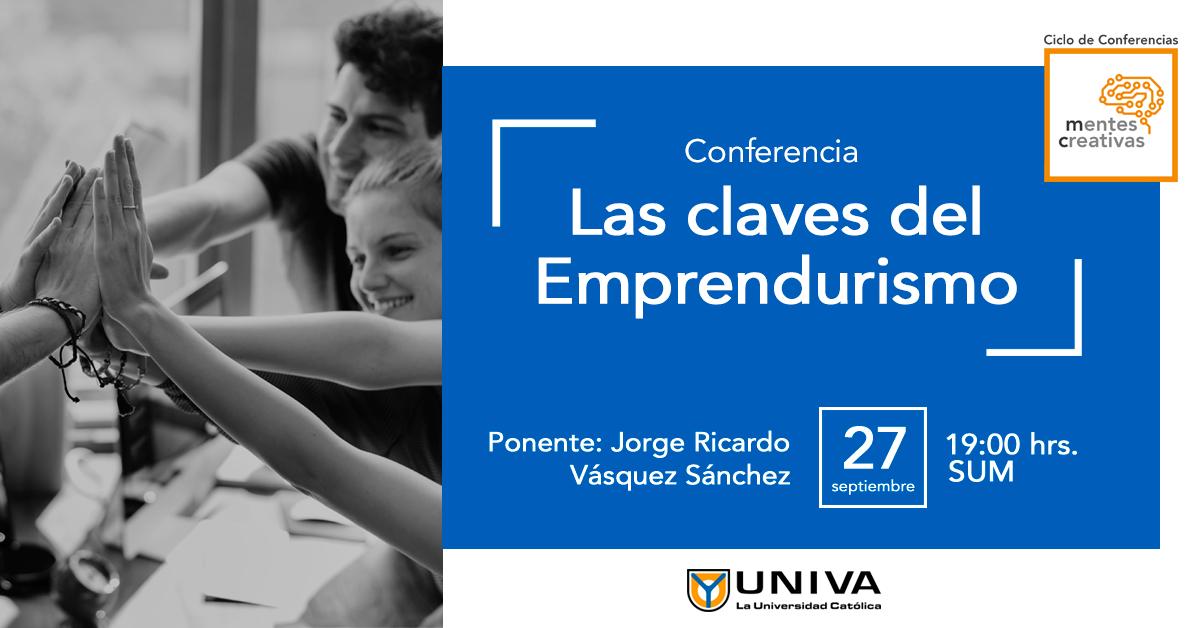 Conferencia: Las claves del Emprendurismo