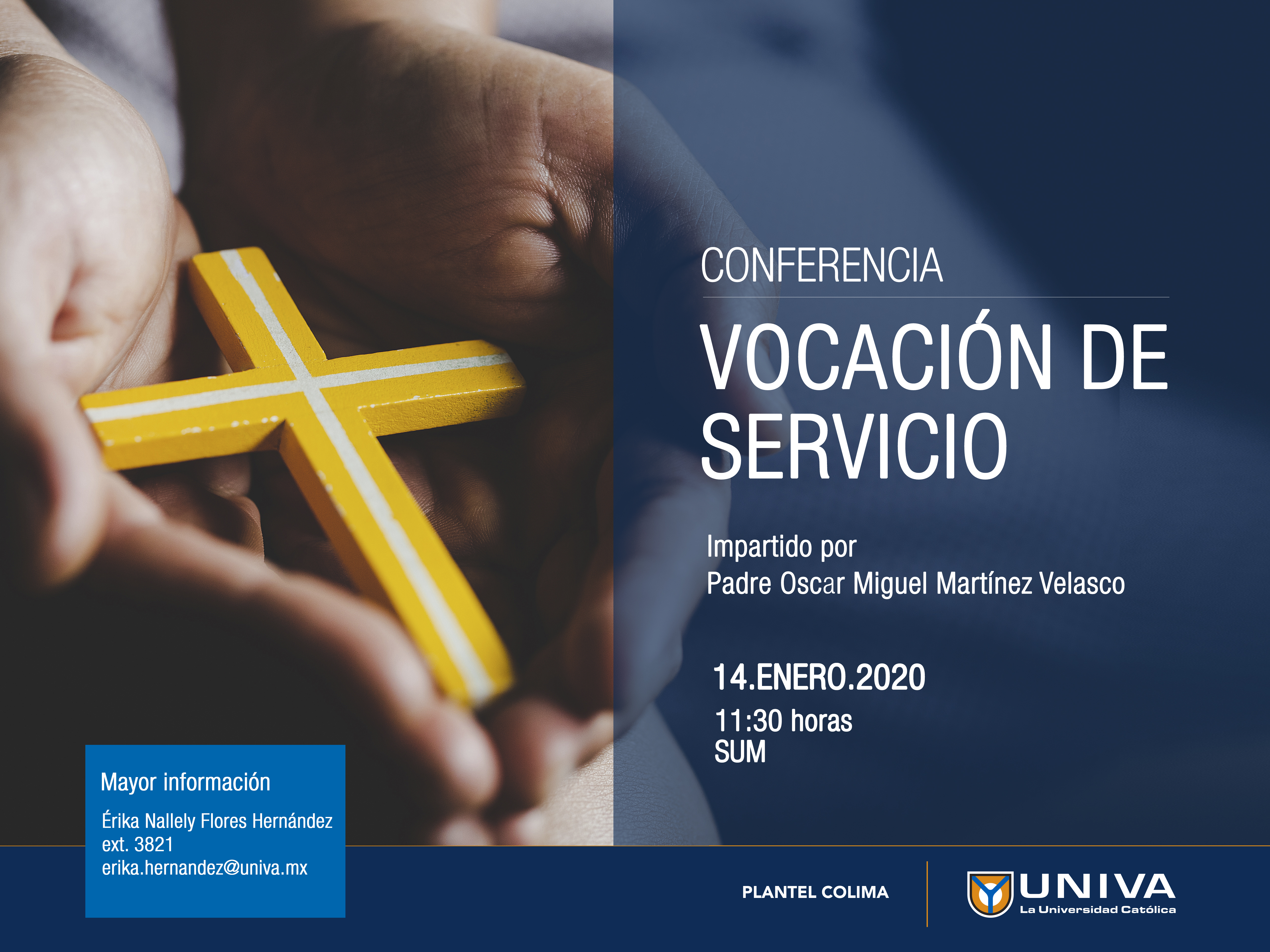 Conferencia: Vocación de servir