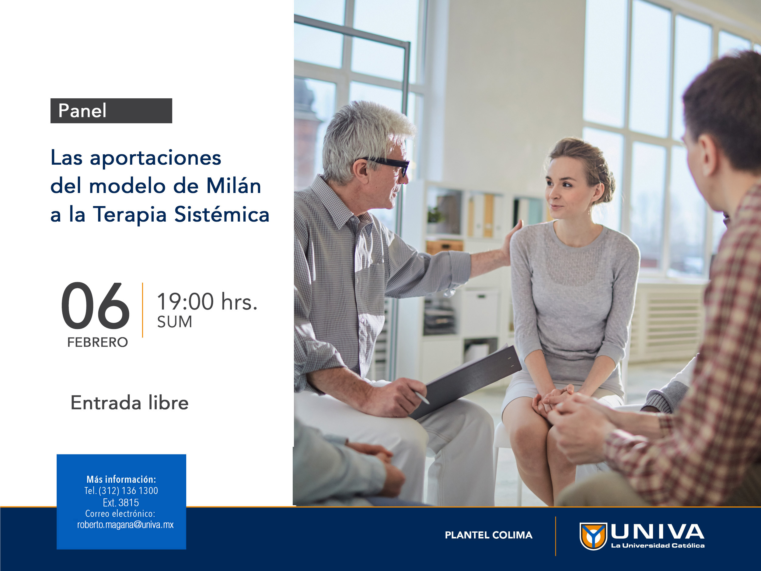 Panel: Las aportaciones del modelo de Milán a la Terapia Sistémica.