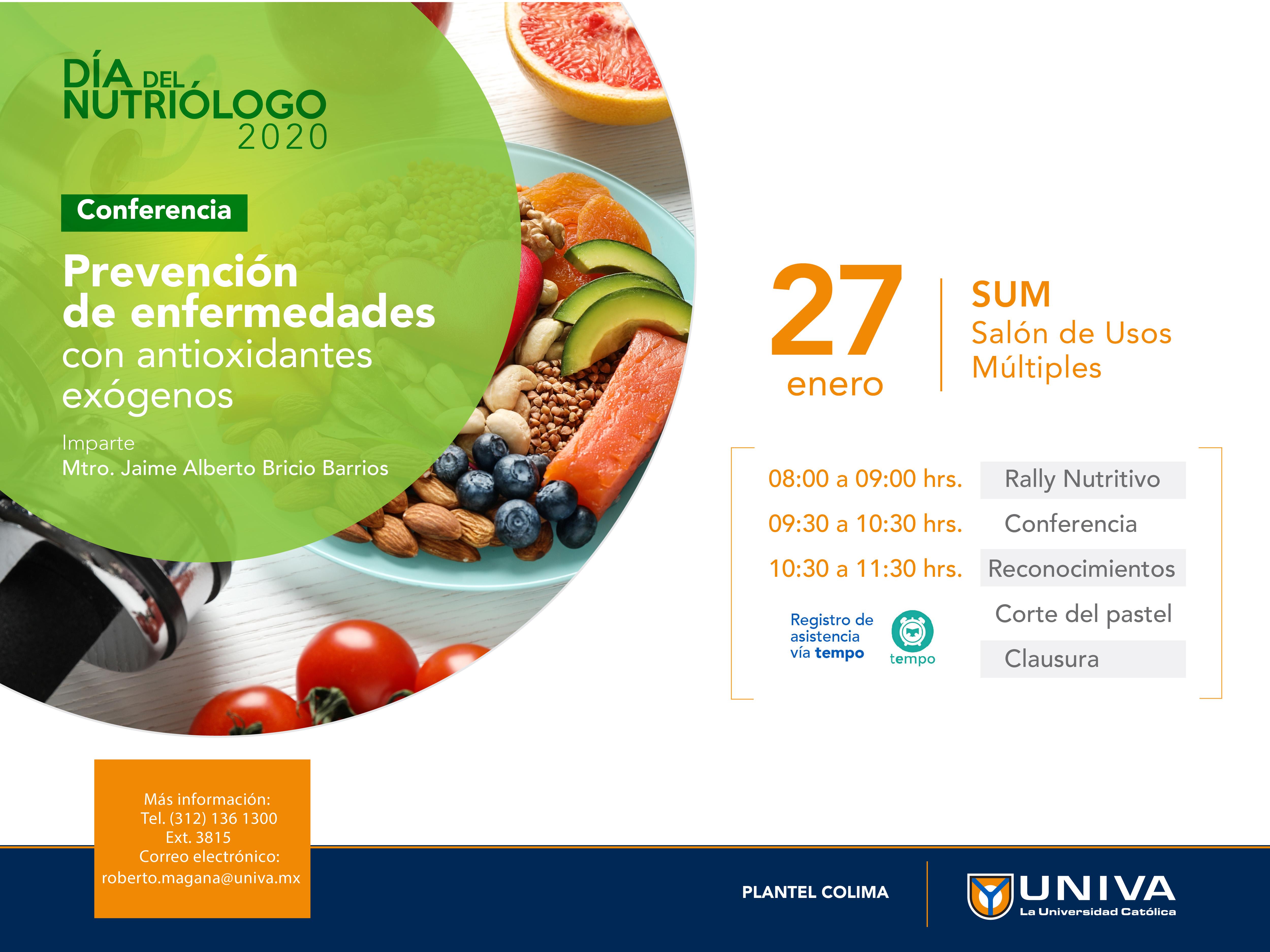 Día del Nutriólogo UNIVA