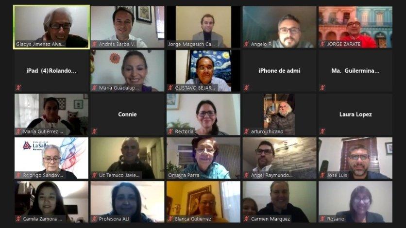 """Se realiza la tercera sesión del seminario virtual """"Tejiendo redes en clave de responsabilidad social"""""""