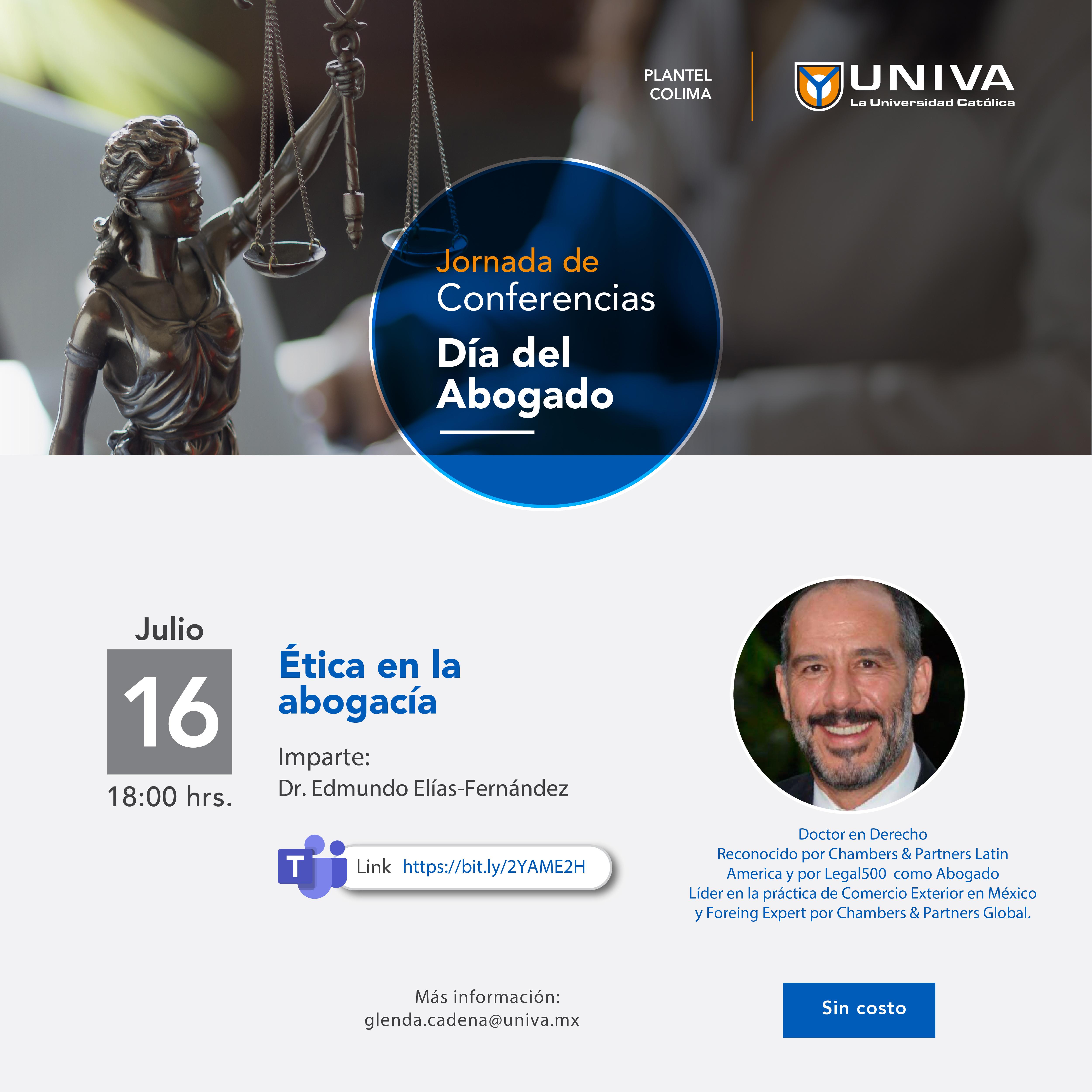 Webinar: Ética en la abogacía»