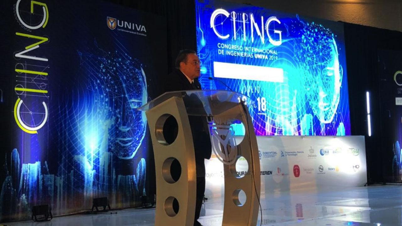 Se realiza Congreso Internacional de Ingenierías 2019 en UNIVA Guadalajara