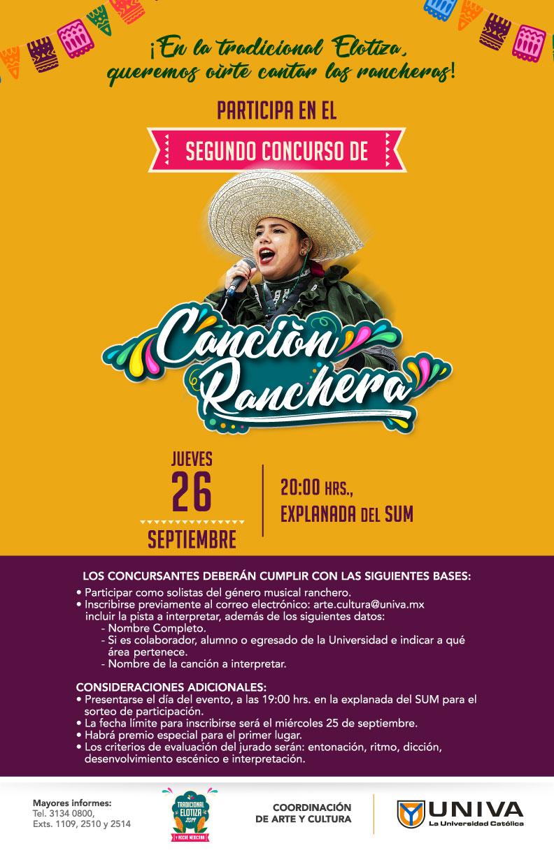 Segundo Concurso de Canción Ranchera