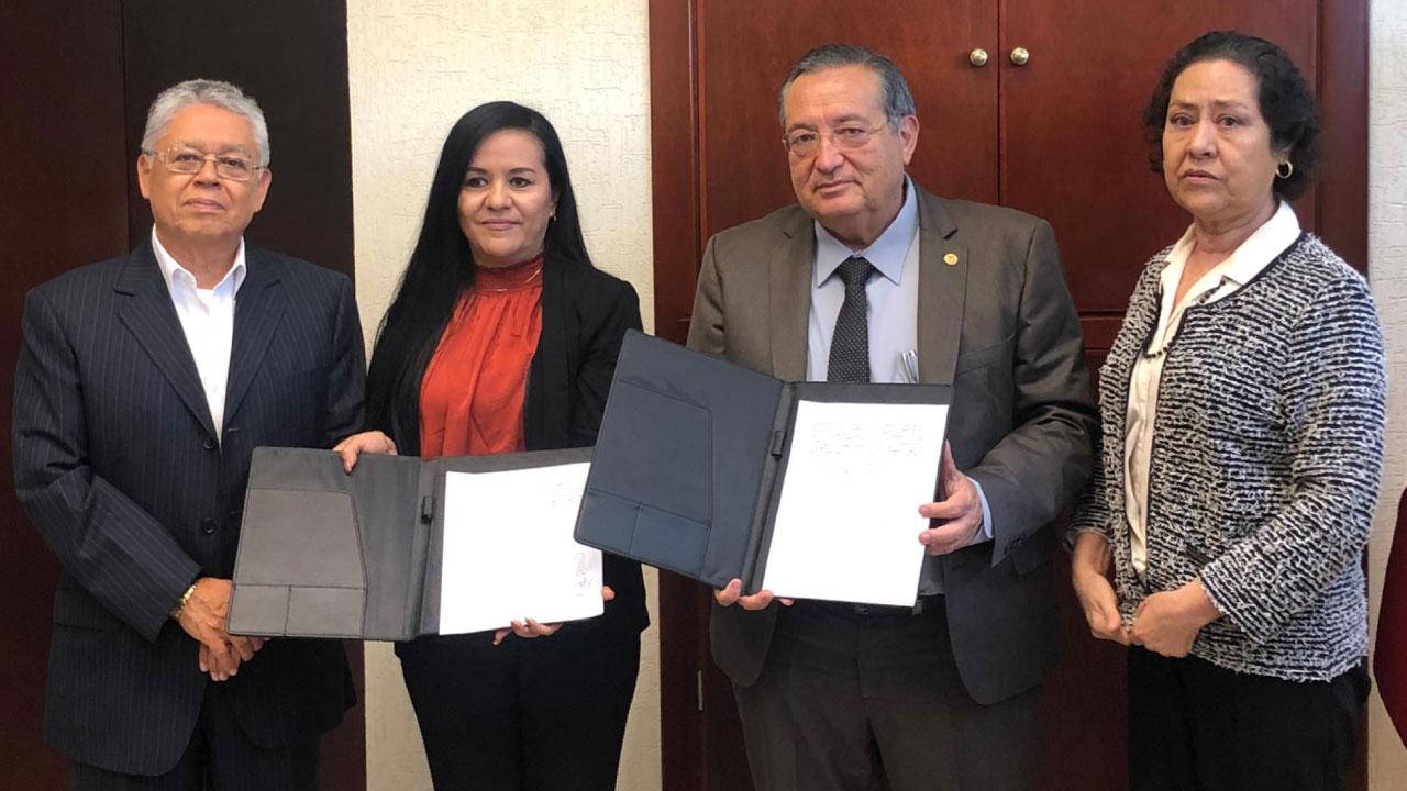 Firma de convenio UNIVA  Clúster Automotriz del Estado de Jalisco A. C.