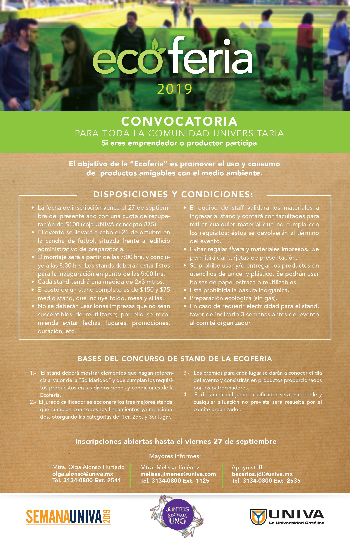 Convocatoria Ecoferia 2019