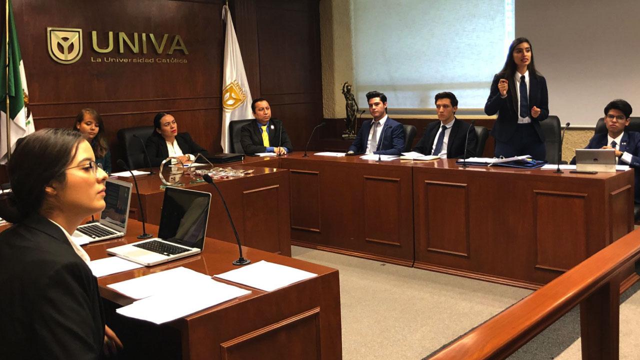 Se desarrolla el 6° Concurso de debates jurídicos y criminológicos en UNIVA Guadalajara