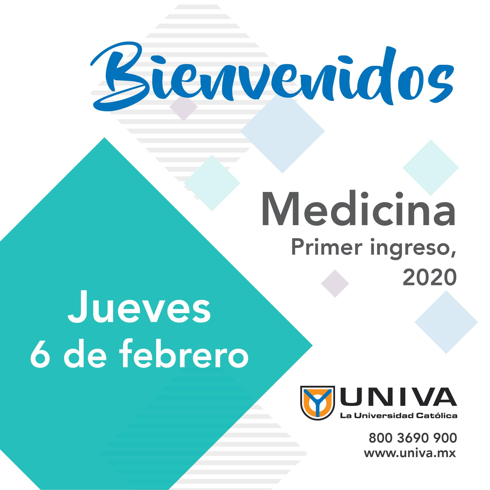 Bienvenida alumnos de Medicina