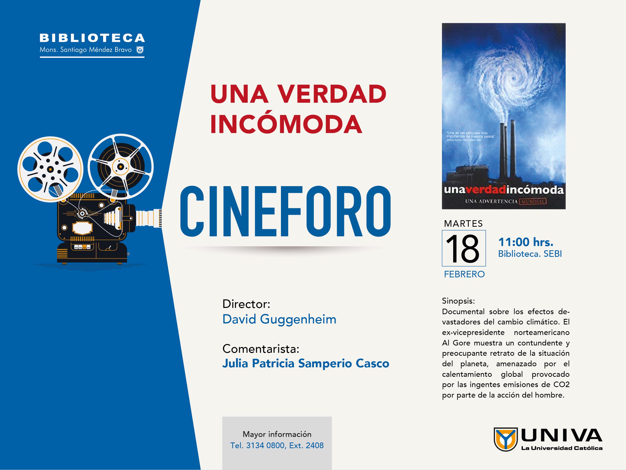 Cineforo UNIVA: Una Verdad Incómoda