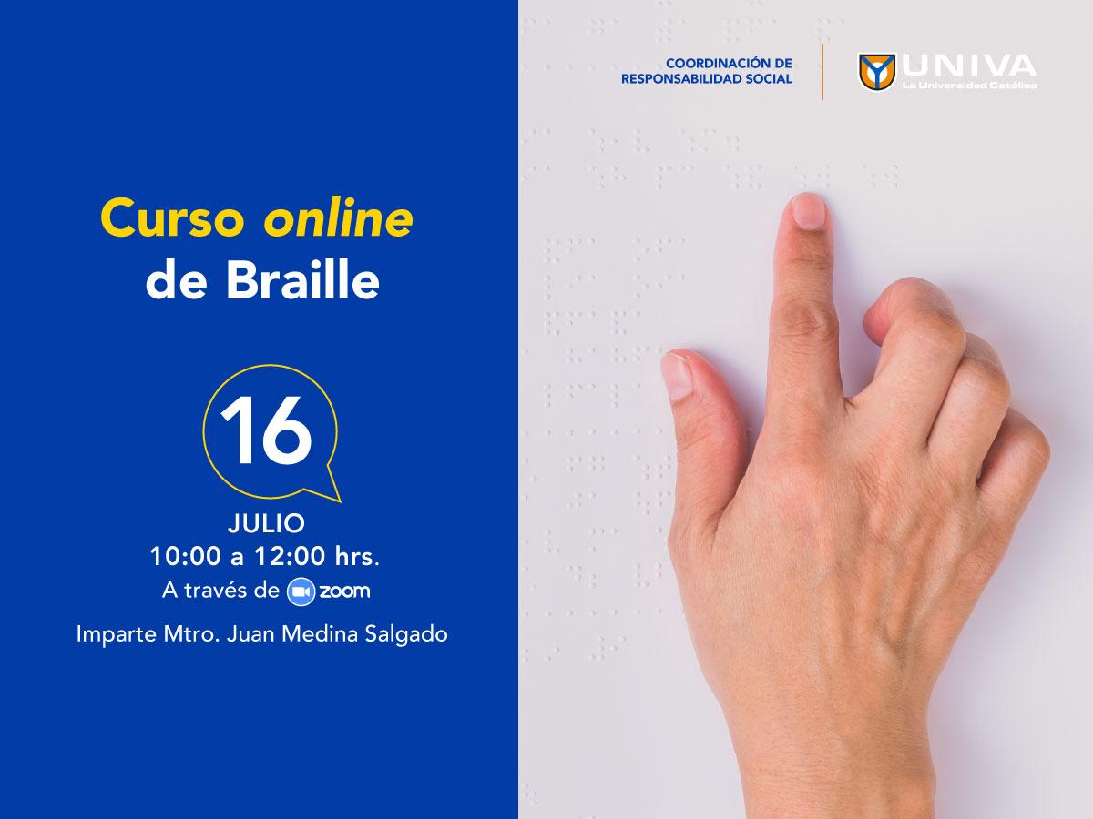Curso de online de Braille