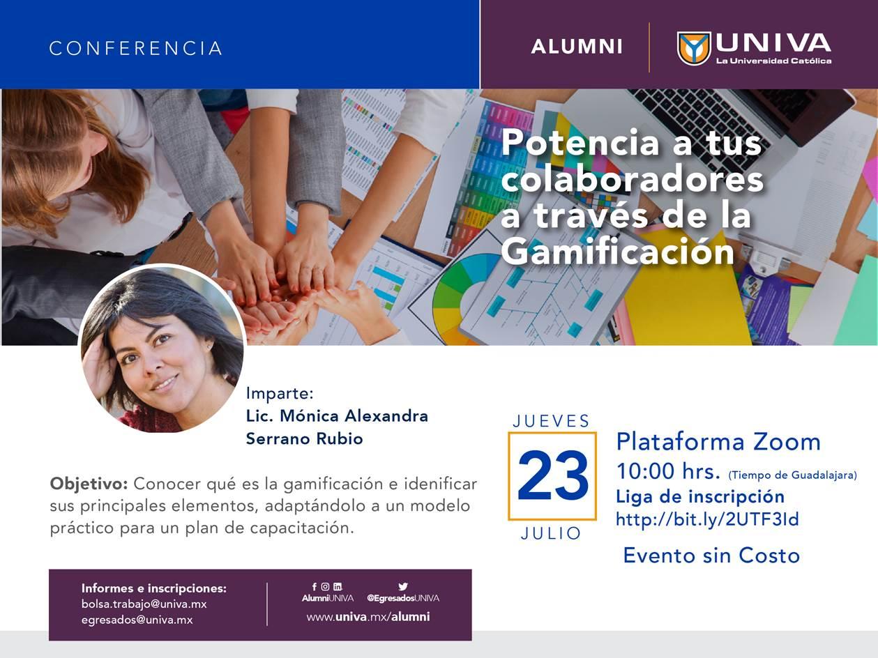 Conferencia Alumni: Potencia a tus colaboradores a través de la Gamificación