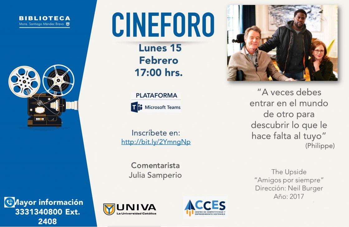 Cineforo: The Upside