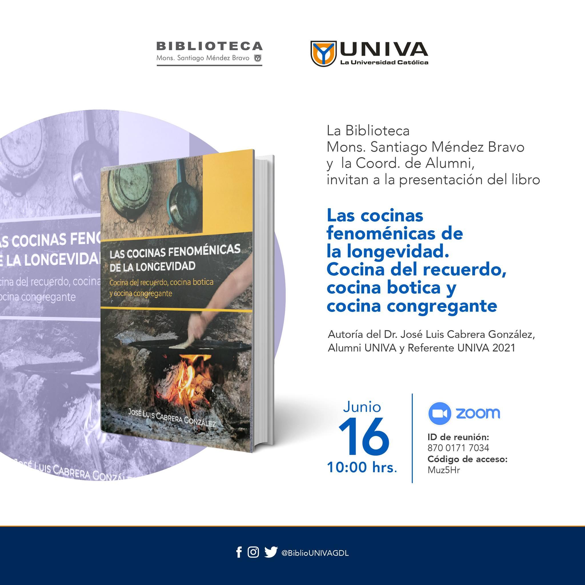 Presentación del libro: Las cocinas fenoménicas de la longevidad