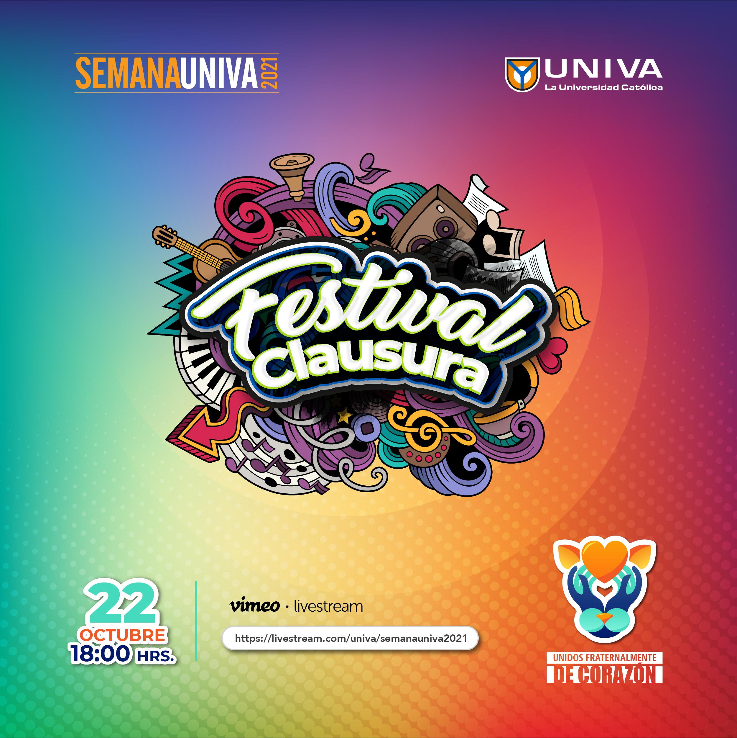 Festival Clausura Semana UNIVA 2021