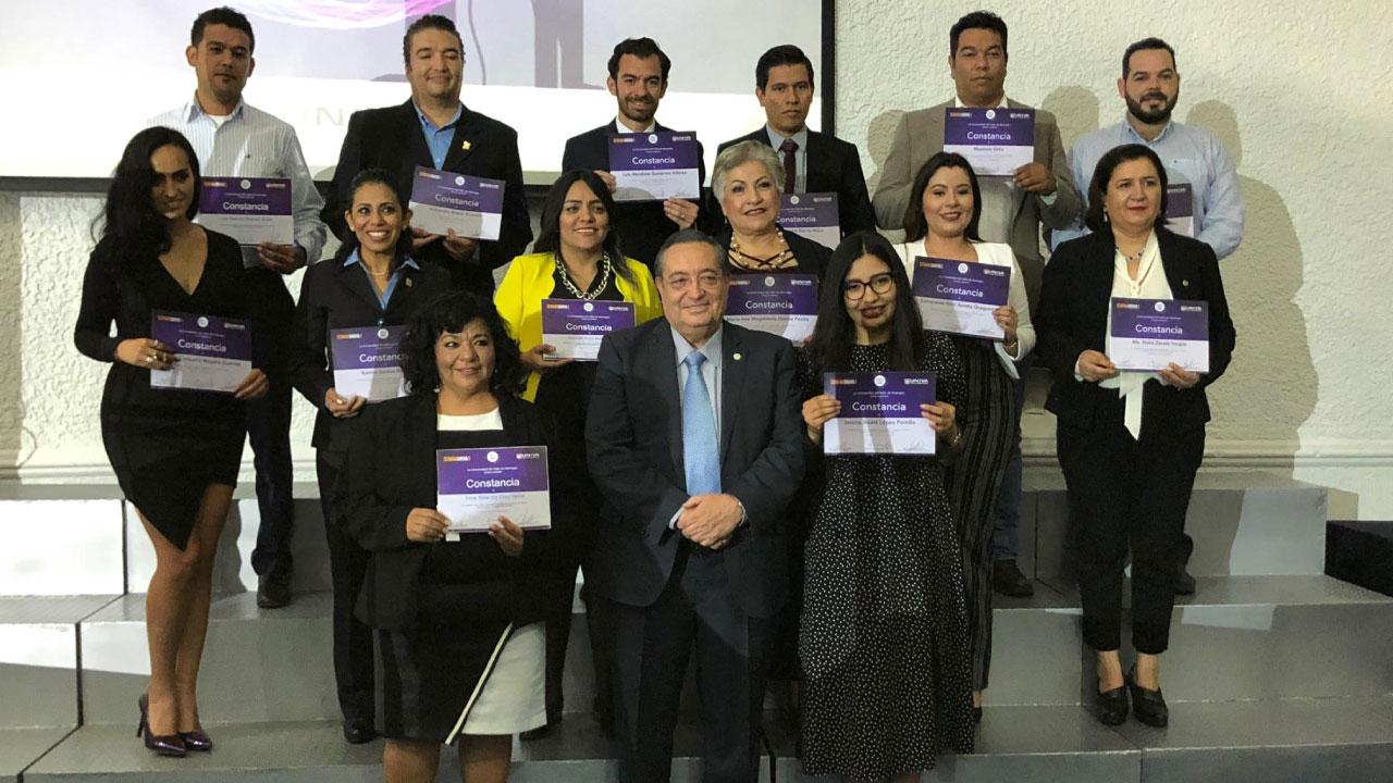 UNIVA reconoce a algunos colaboradores por su trayectoria en la institución y se otorga el premio MAS