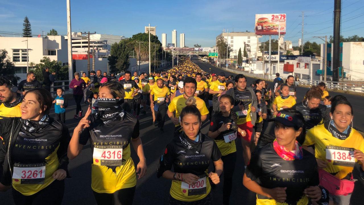 Se realiza con éxito la Carrera Invencibles UNIVA 2019