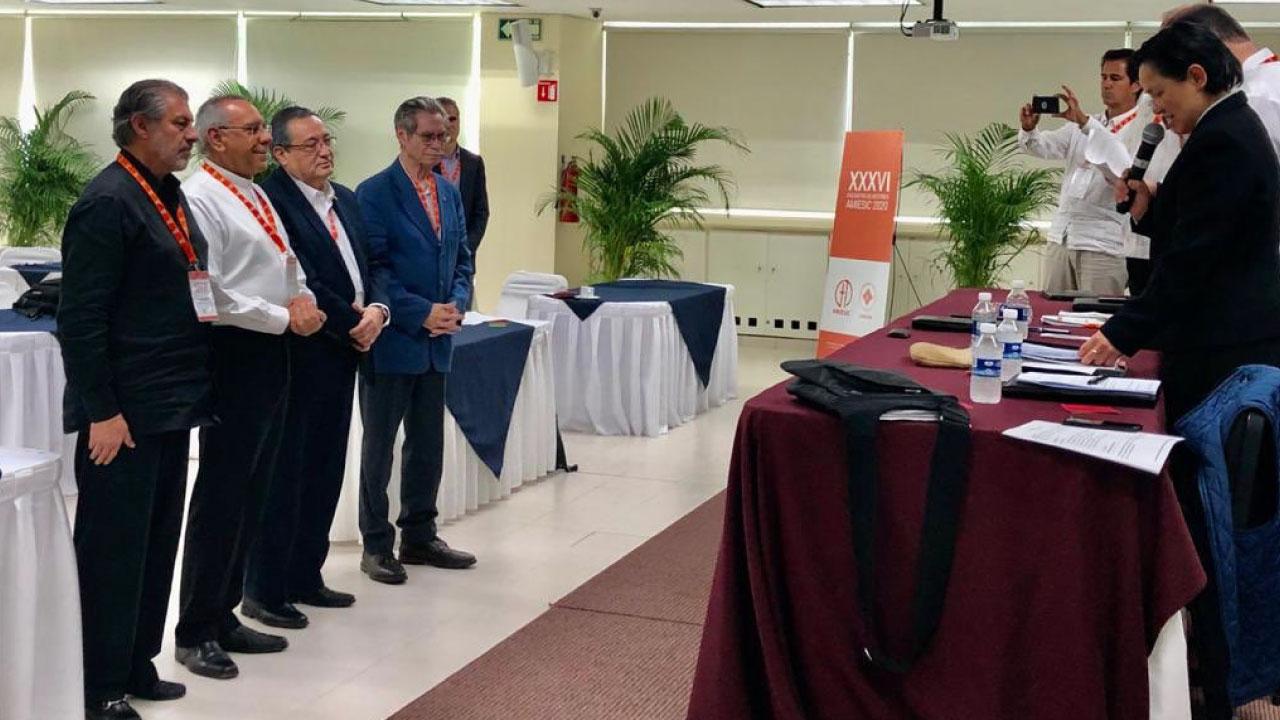 La AMIESIC designa como Vocal de Formación Humanista   al Pbro. Lic. Francisco Ramírez Yáñez, rector del Sistema UNIVA