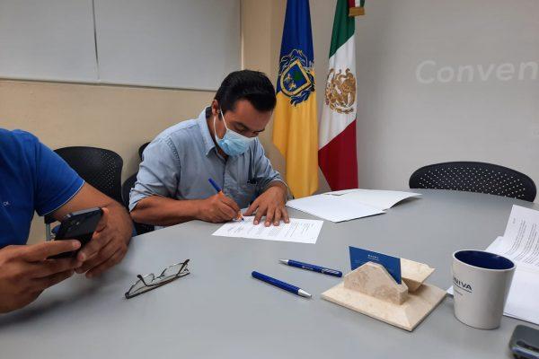 Arq. José Omar Hernández López presidente saliente del Colegio de Arquitectos