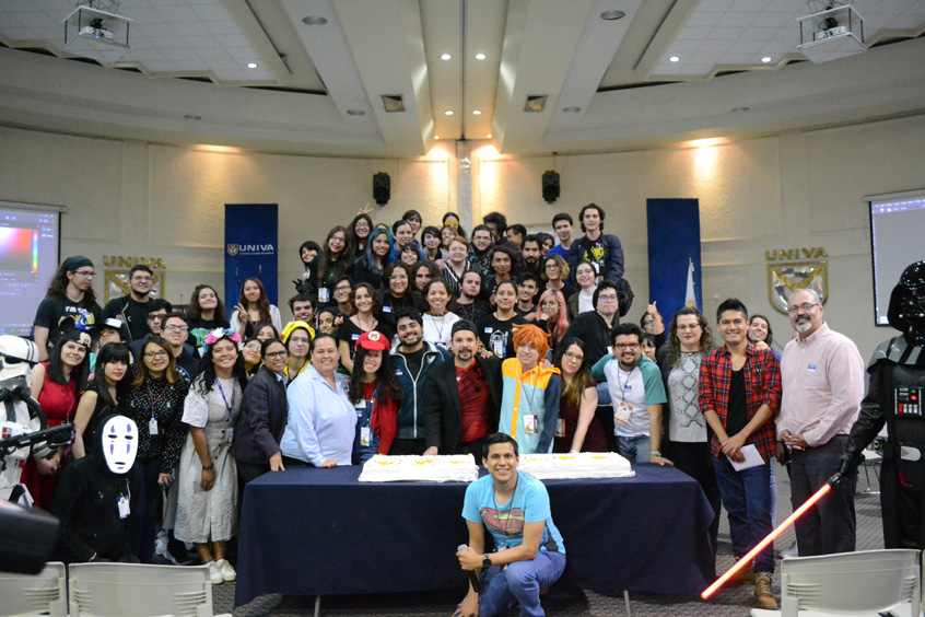 Celebración del Día del Animador en la UNIVA plantel Guadalajara